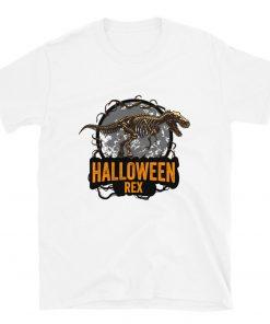 Halloween 2021 For Halloween Day Funny Halloween Mens Halloweenrex T-Shirt