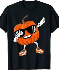 Halloween Dancing Pumpkin Boy Girl T-Shirt