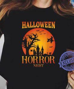 Halloween Horror Fright Night House Match Costume T-Shirt