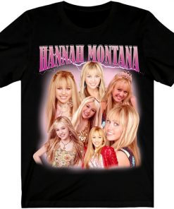 Hannah Montana - Miley Cyrus Rap Hip Hop T-Shirt