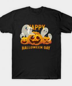 Happy Halloween Day 2021 For Halloween 2021 Funny Halloween Celebration Gift T-Shirt