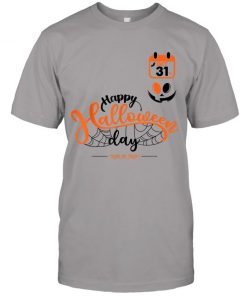 Happy Halloween Day – Halloween Smile Face T-Shirt