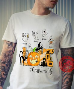 Love Halloween Grandma Life T-Shirt