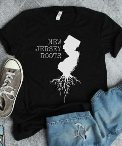 New Jersey State Map T-Shirt