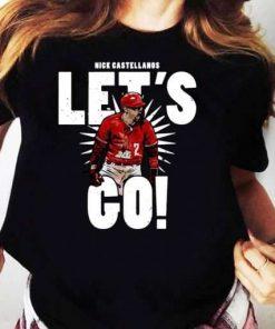 Nick Castellanos Lets Go T-Shirt