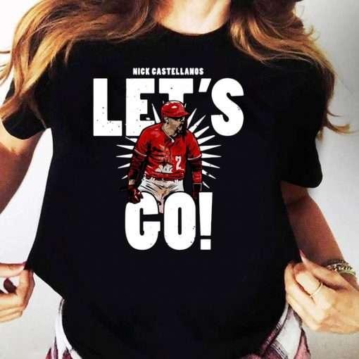 Nick Castellanos Lets Go T Shirt