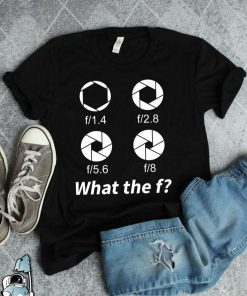 Photography Gift What The Funny Camera T-Shirt