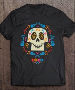 Pixars Coco Papel Picado Sugar Skull Classic T-Shirt