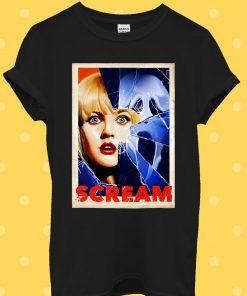 Scream Retro 90s Cult Horror Film T-Shirt
