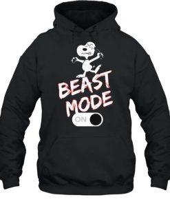 Snoopy Beast Mode On T Shirt 2