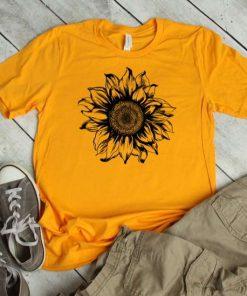 Sunflower Gift Floral T-Shirt