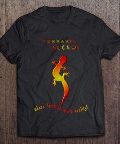 Terraria Geckos Logo T-Shirt