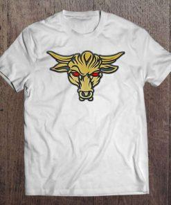 The Rock Brahma Bull Tattoo Design American T-Shirt S 6XL