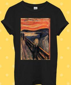 The Scream Edvard Munch Painting Art T-Shirt
