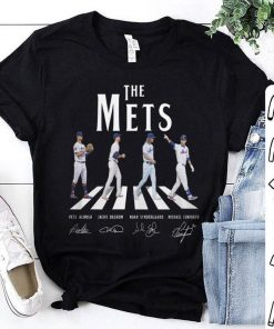 The New York Mets Baseball Abbey Road Signatures T-Shirt