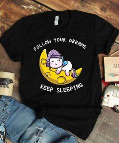 Unicorn Art Sleeping Unicorn Shirt
