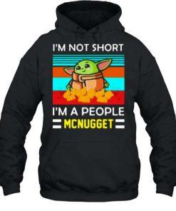 Yoda Im Not Short Im A People Mcnugget T Shirt 2
