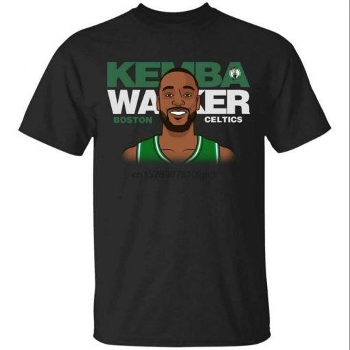 Kemba Walker Short Sleeve Black T-Shirt