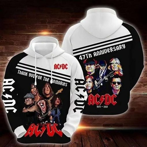 ACDC Rock Band 3D Hoodie