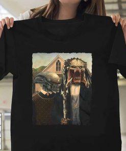 American Gothic Alien T-Shirt