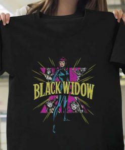 Black Widow Comics T-Shirt