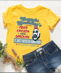 Captain Spaulding Devils Rejects Friend Chicken & Gasoline Sid Haig T-Shirt