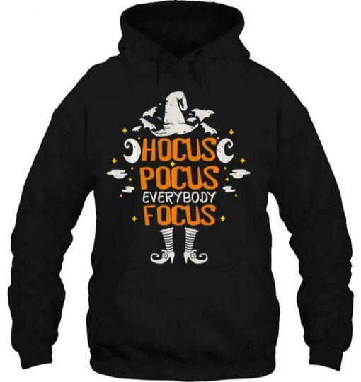 Halloween Hocus Pocus Everybody Focus Funny Costume T-Shirt
