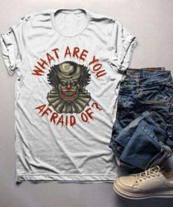Halloween Scary Clown T-Shirt