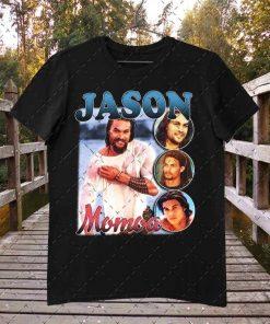 JASON MOMOA Vintage Inspired 90's Rap Unisex T-Shirt
