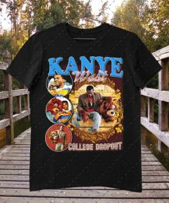 Kanye West College Dropout Vintage Inspired 90's Rap T-Shirt
