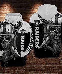 Las Vegas Raiders NFL 3D Hoodie