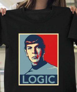 Mr Spock Logic Star Trek T-Shirt