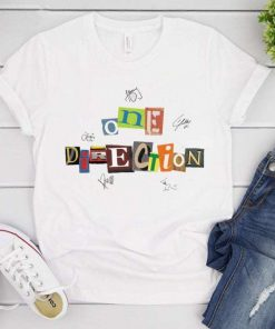 One Direction Signatures T-Shirt