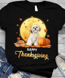 Shih Tzu Happy Thanksgiving T-Shirt