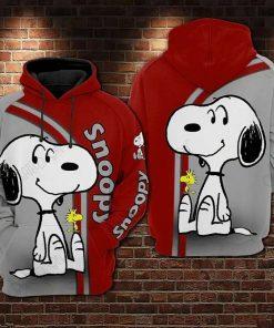 Snoopy Cartoon 3D Hoodie