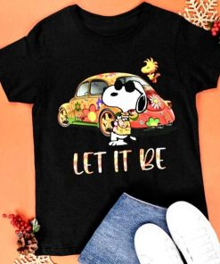 Snoopy Let It Be Hippie T-Shirt