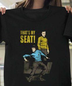 Star Trek Thats My Seat T-Shirt