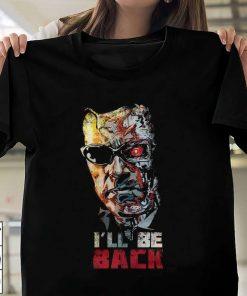 Terminator I'll Be Back Movie T-Shirt