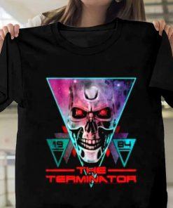 Terminator Movie  New 1984 State Arnold Schwarzenegger T-Shirt