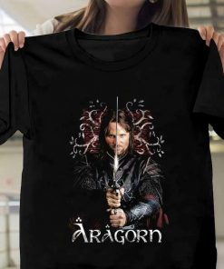 The Lord Of The Rings Aragorn Ranger Of The North Graphic T-Shirt