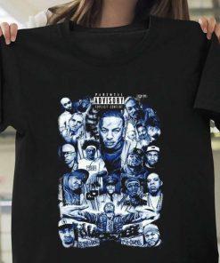 Tupac Hip Hop Biggie Smalls Eazy E NWA Eminem Dr Dre Rap Collage 2pac T-Shirt
