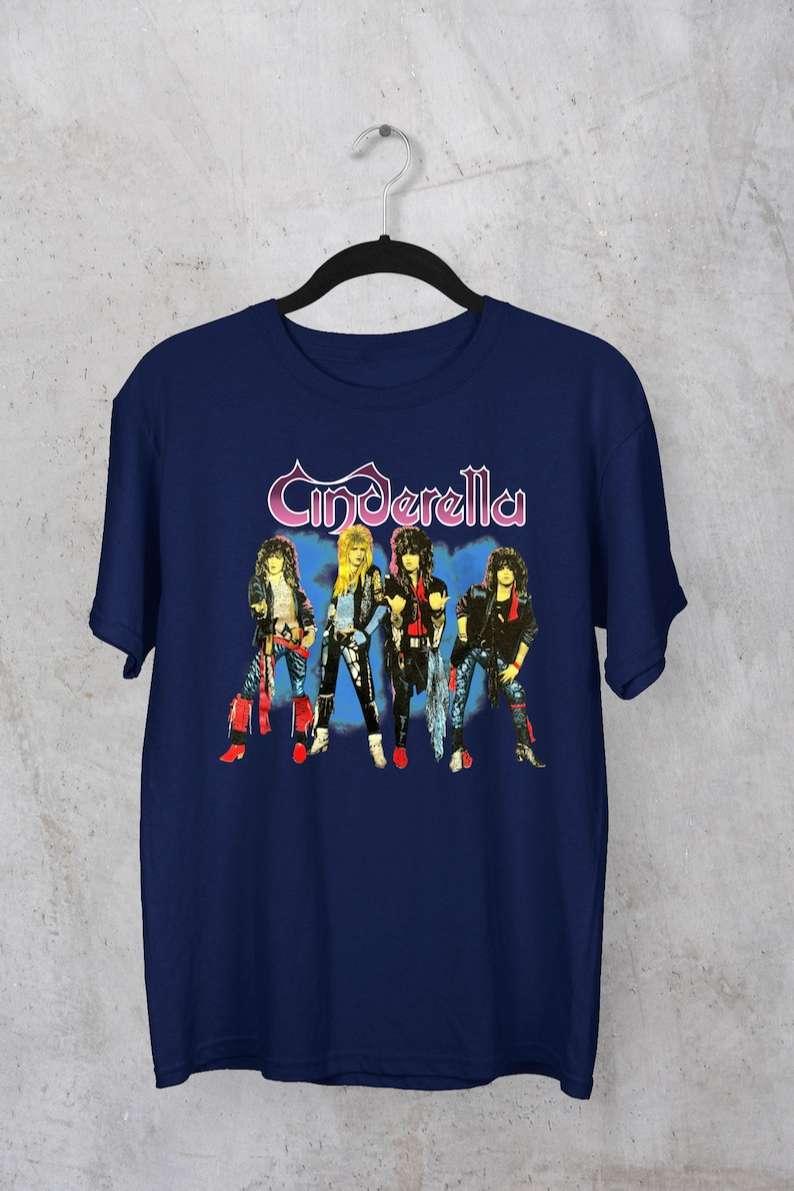 1986 Cinderella Night Songs Tour T-Shirt
