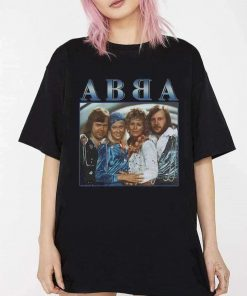 ABBA 90s Vintage Throwback T-Shirt