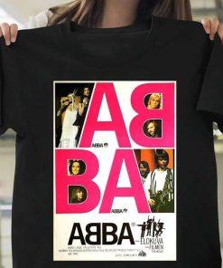 ABBA Retro Graphic T-Shirt