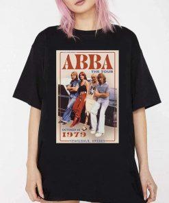 ABBA The Tour 1979 Vintage T-Shirt