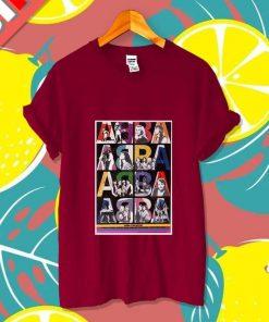ABBBA Movie Vintage Shirt Retro Dancing Queen Poster Unisex T- Shirt