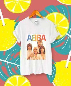 ABBBA Vintage Shirt Music Legend Dancing Queen Pop Band Hip Hop Unisex T-Shirt