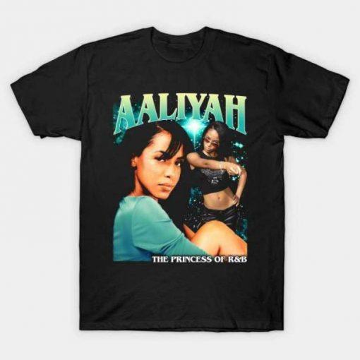 Aaliyah Princess of R&B Unisex T-Shirt