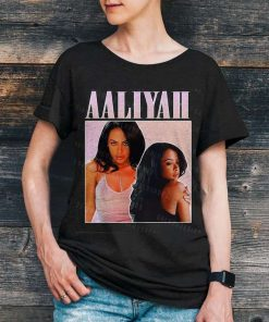 Aaliyah Vintage 90s Unisex T-shirt