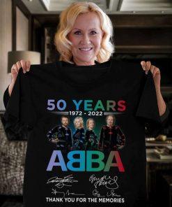 Abba T-Shirt 50 Years Annivesary 1972-2021 T-Shirt